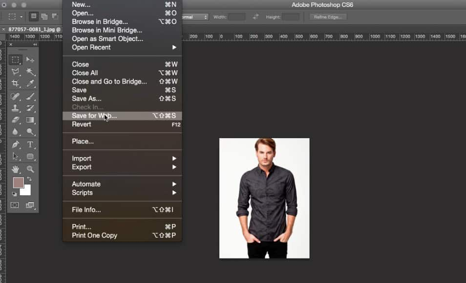 Mengecilkan Ukuran Gambar di Photoshop